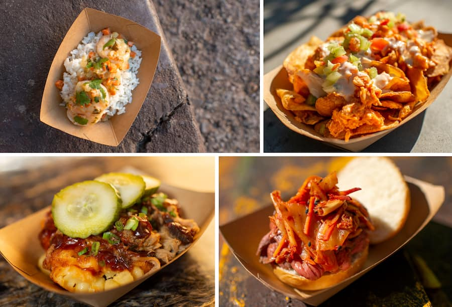 Limited-Time Offerings for Disney's Animal Kingdom Tasting Sampler