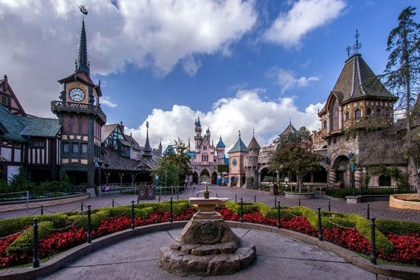 Fantasyland, Disneyland park