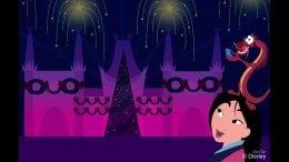 Disney Doodle: Mulan Enjoys 'Jingle Bell, Jingle BAM!'