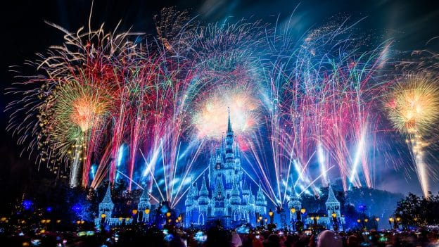 New Year's Eve Fireworks at Magic Kingdom Park