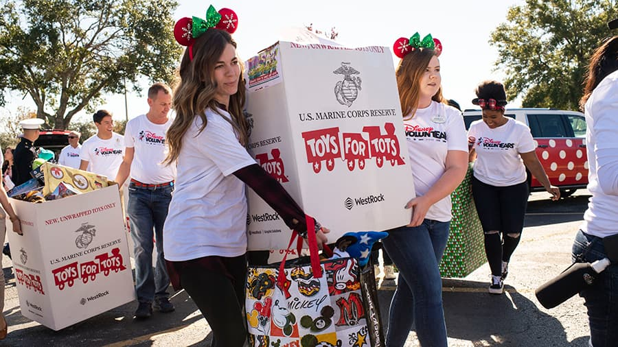 U.S. Marine Corps Toys for Tots drive