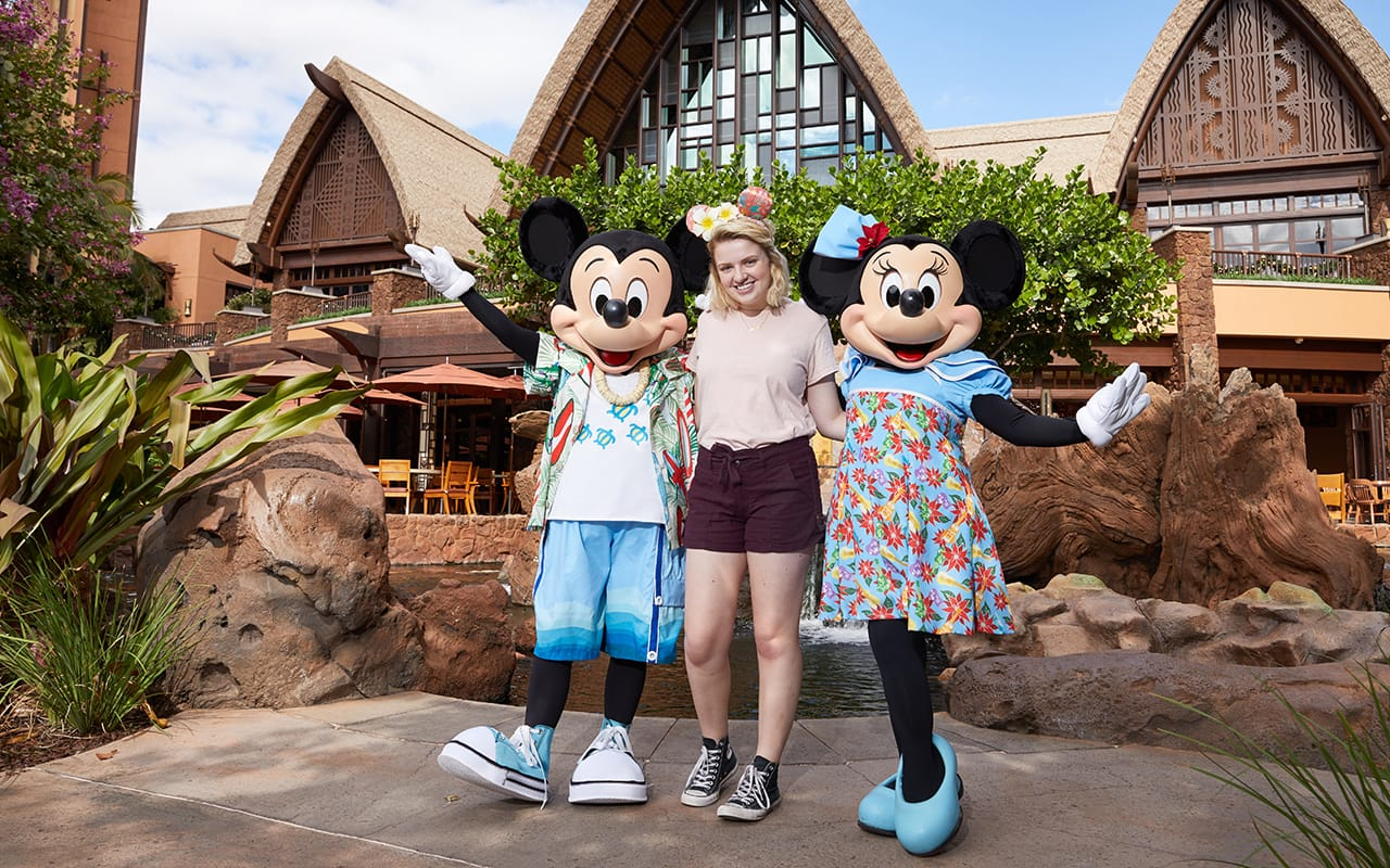 Current 'American Idol' Winner Maddie Poppe Visits Aulani, A Disney Resort & Spa in Ko Olina