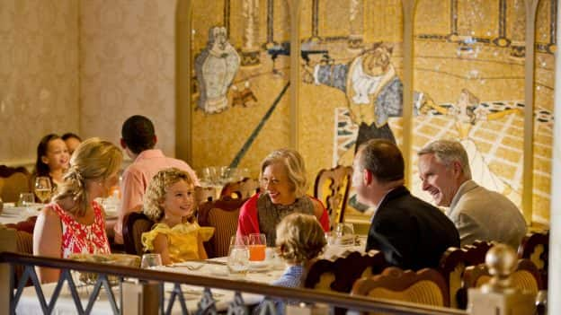 Dining on a Disney Cruise