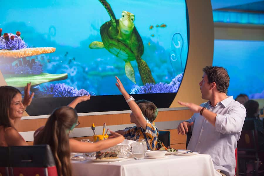 Animator's Palate on Disney Cruise Line