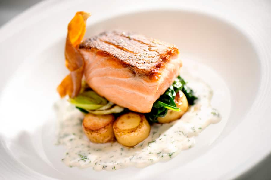 Wild Alaska Salmon from Disney Cruise Line
