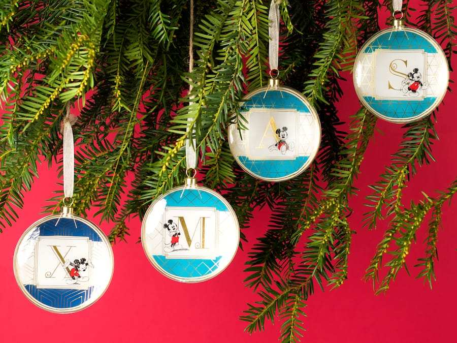 New Flat Glass Ornaments Available at Disneyland Pais