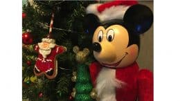 Santa Mickey Mouse Nutcracker