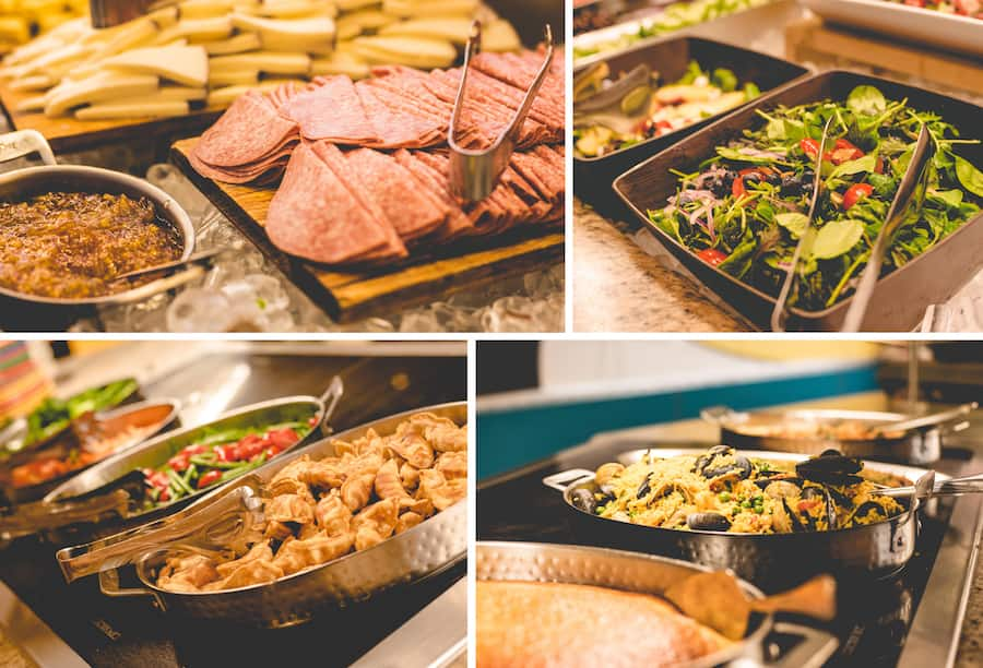 New Buffet Items at Chef Mickey's at Disney's Contemporary Resort