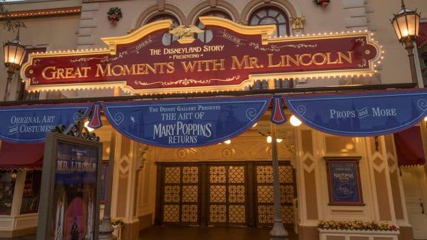 Disney's 'Mary Poppins Returns' Film Memorabilia Gallery Now Open at Disneyland Park