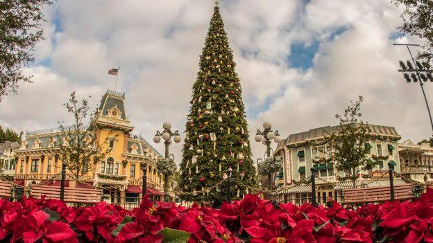 Video Trimming The Christmas Tree At Disneyland Park Disney Parks