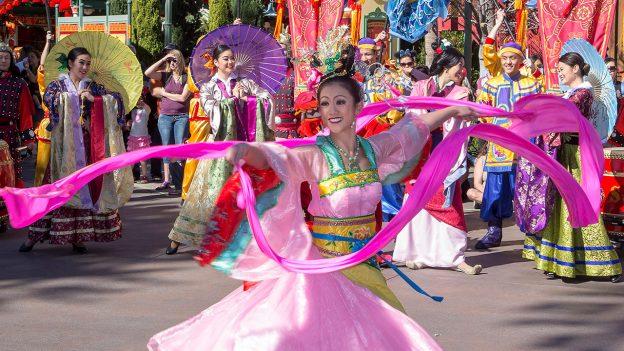Lunar New Year Festival Disneyland
