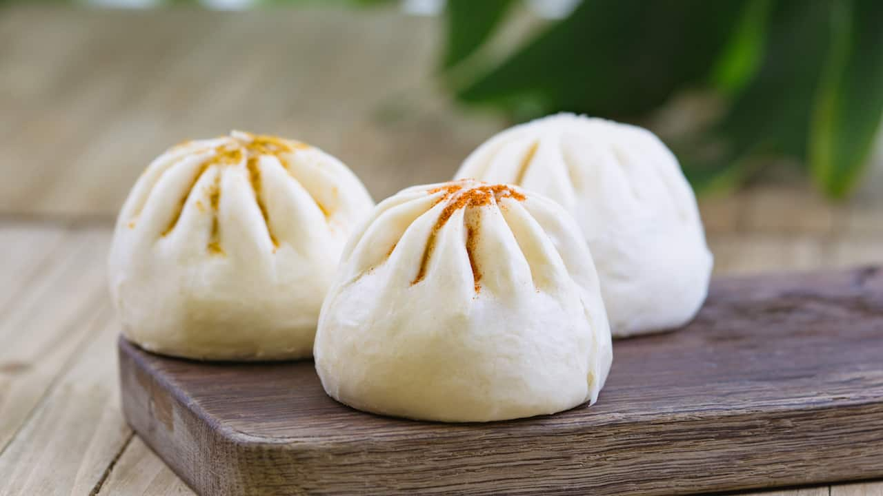 Bao Buns from The Tropical Hideaway at Disneyland Park