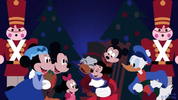 'Mickey's A Christmas Carol' Friends Visit Magic Kingdom Park