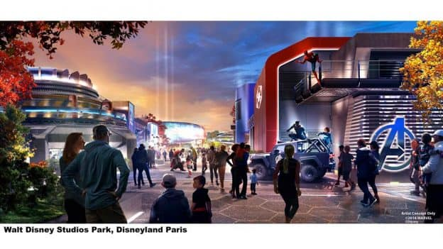Global Avengers Initiative to Assemble Earth's Mightiest Heroes at Disney Parks Around the World - Walt Disney Studios Park, Disneyland Paris