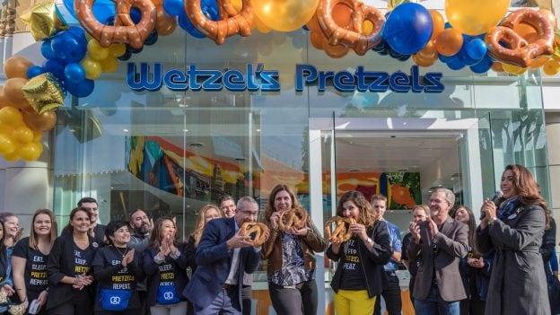 Wetzel's Pretzels Re-Opens in the Downtown Disney District at Disneyland Resort