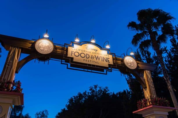 Disney California Adventure Food & Wine Festival 2019