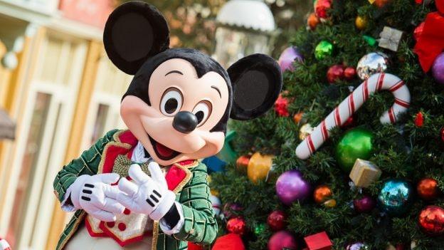 Holiday Mickey Mouse at Walt Disney World Resort
