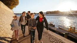 Rhone River Cruise, Family Walk on Adventures by Disney
