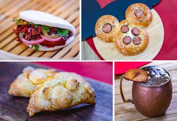Foodie Guide to Lunar New Year 2019 at Disney California Adventure Park - Prosperity Bao & Buns