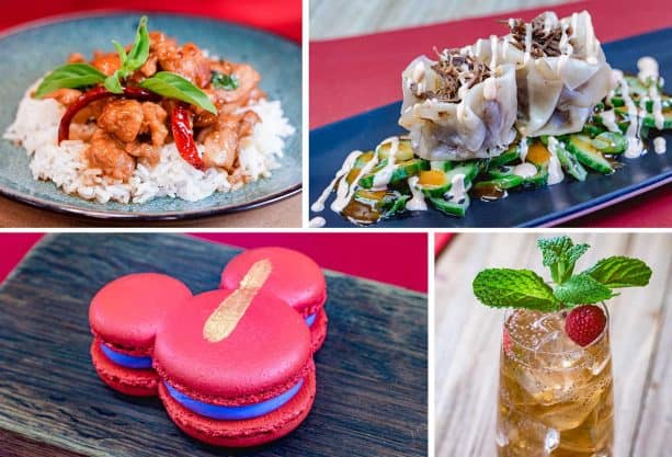 Foodie Guide to Lunar New Year 2019 at Disney California Adventure Park - Red Dragon Spice Traders