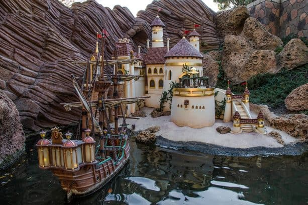 Storybook Land Canal Boats in Disneyland park