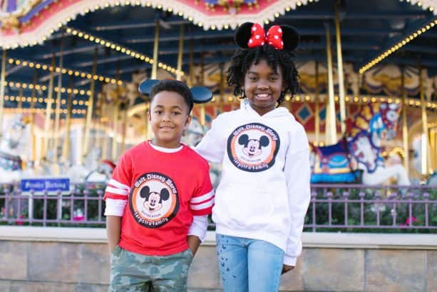 Kids wearing Disney Parks Authentic Custom T-Shirts and Gear from shopDisney.com
