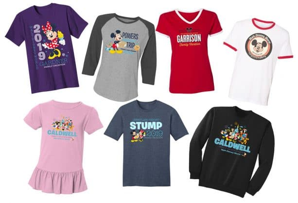 b38a636014 Disney Parks Authentic Custom T-Shirts and Gear Now Available on ...