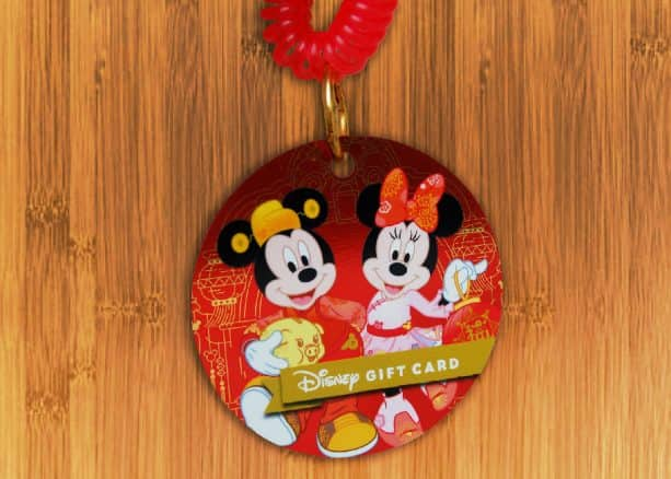 Special-edition Lunar New Year Celebration Disney Gift Card