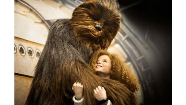 Encounter the legendary Chewbacca in Walt Disney Studios Park at Disneyland Paris