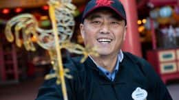 Candy Artisan Wenbo Zhang at the Epcot International Festival of the Arts