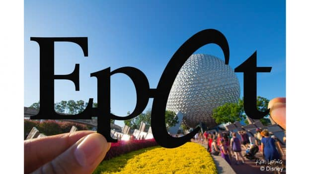 Disney Parks in Silhouette: Epcot/Spaceship Earth design by artist Keith Lapinig