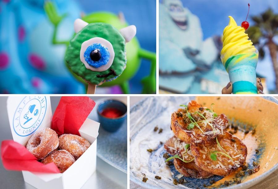 Pixar-themed Treats for Pixar Fest and Pixar Pier at Disneyland Resort