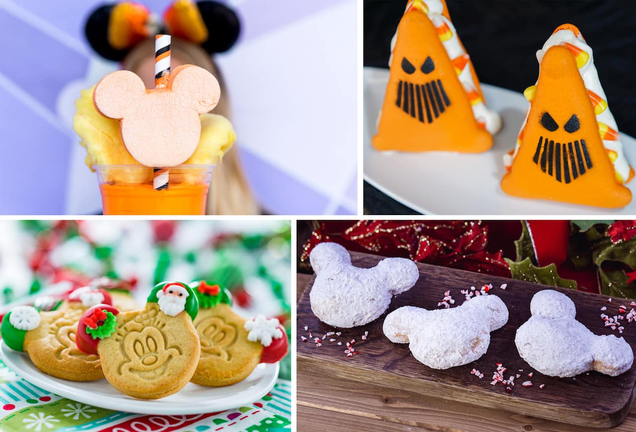 2018 Holiday Eats at Disney Parks