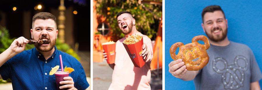 Disney Parks Blog Food Author Alex Dunlap