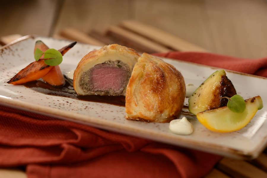 Beef Wellington from The Artist's Table Food Studio at Epcot International Festival of the Arts