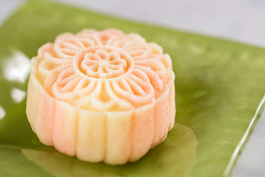 Crystal Mooncake from The Painted Panda Food Studio at Epcot International Festival of the Arts