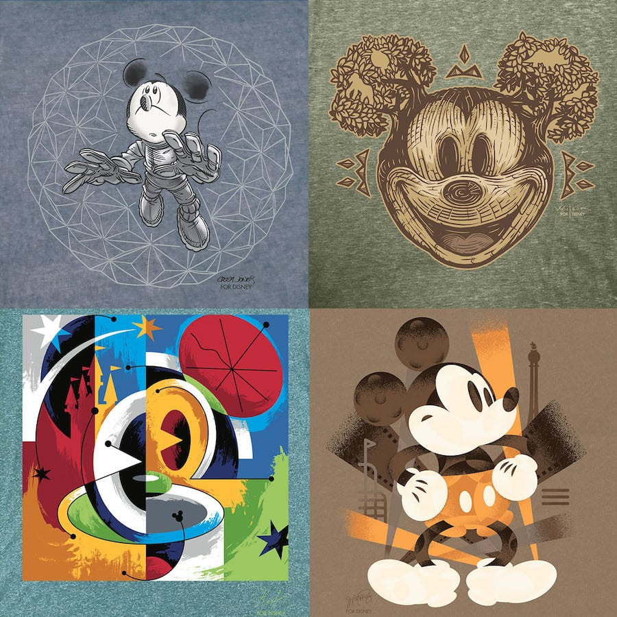 New Mickey Mouse T-Shirts Designed by Local Disney Artists