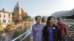 Rhone River Vacation river views on Adventures by Disney Vacation Packages