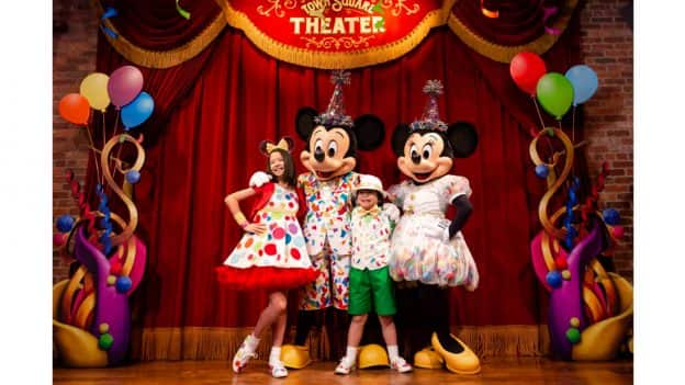 Mickey & Minnie's Surprise Celebration at Magic Kingdom Park