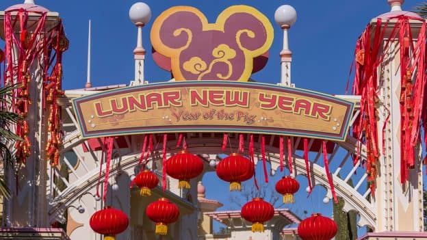 Lunar New Year starts today at Disney California Adventure park