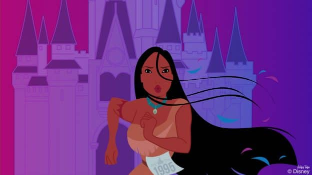 Disney Doodle: Pocahontas Sprints Through Walt Disney World