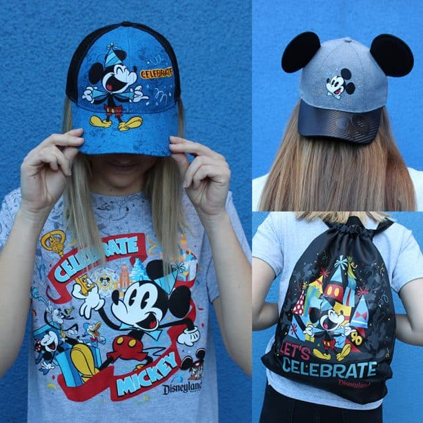 Get Your Ears On – A Mickey and Minnie Celebration merchandise collage