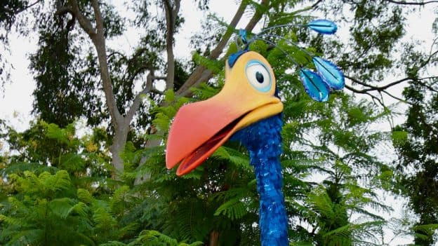 "Kevin from Disney•Pixar's ""Up"" at Disney's Animal Kingdom park"