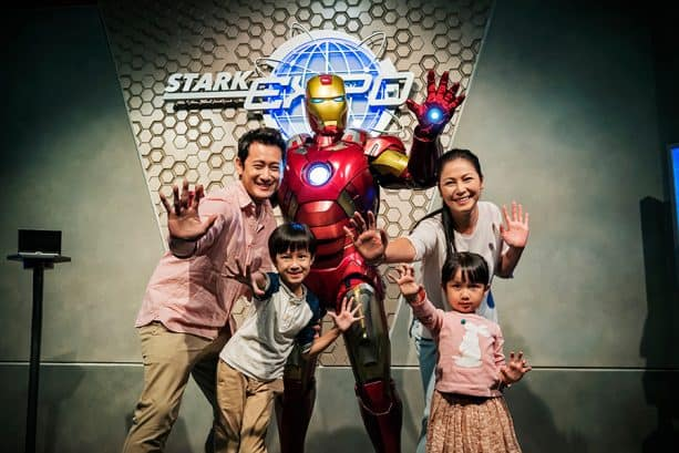 Suit up with Tony Stark at The Iron Man Experience at the Hong Kong Disneyland Resort