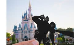 Disney Parks in Silhouette: The Incredibles take a selfie at Magic Kingdom Park