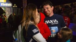Army Veteran Eric Donohoe Celebrates with Family after Completing Walt Disney World 5K