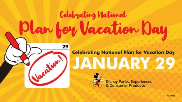 Celebrating National Plan for Vacation Day on January 29