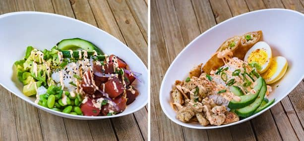 Poke and Rice Bowls