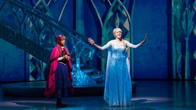 """""""Frozen – Live at the Hyperion"""" in Disney California Adventure park"""