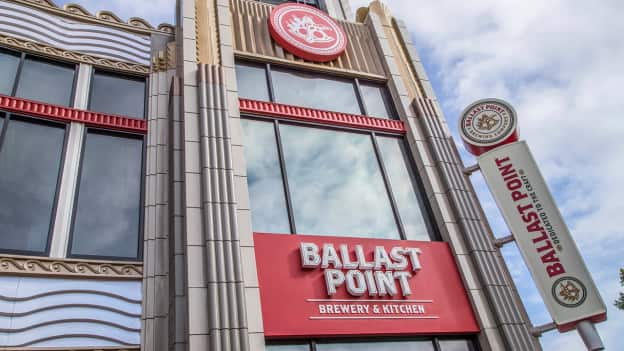 Now Open! Ballast Point Brewing Company in the Downtown Disney District at the Disneyland Resort